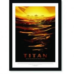 Quadro Poster Nasa Titan