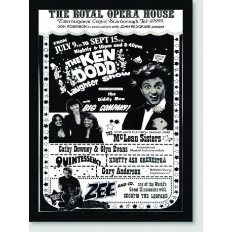 Quadro Poster Circo The Ken Dodd