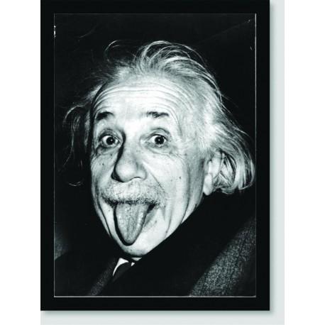 Quadro Poster Personalidades Albert Einstein