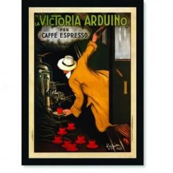 Quadro Poster Propaganda Bebidas Victoria Arduino
