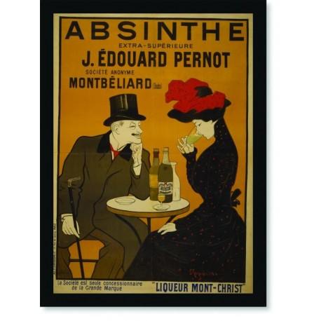 Quadro Poster Propaganda Bebidas Absinthe