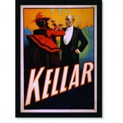 Quadro Poster Propaganda Bebidas Harry Kellar drink Devil