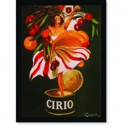 Quadro Poster Propaganda Bebidas Molho Cirio