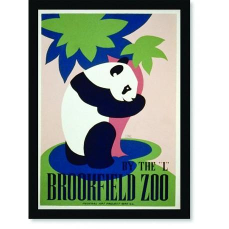 Quadro Poster Natureza Brookfield Zoo