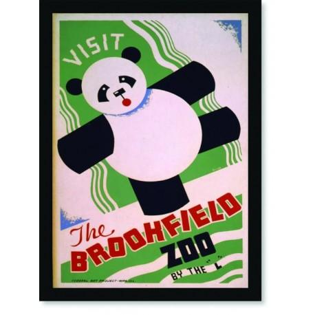 Quadro Poster Natureza Visit The Brookfield Zoo