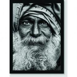 Quadro Poster Pop Art Indiano