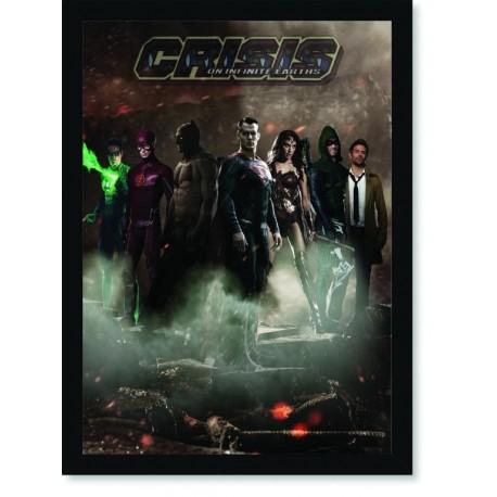 Quadro Poster HQ Crisis on Infinite Earths 1