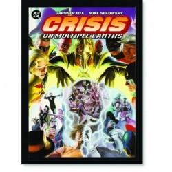 Quadro Poster HQ Crisis on Infinite Earths 3