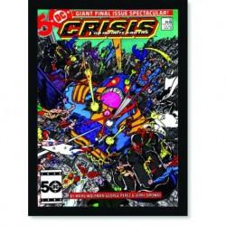 Quadro Poster HQ Crisis on Infinite Earths 5
