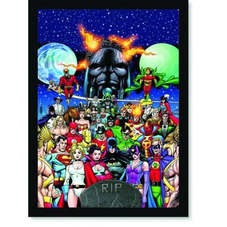 Quadro Poster HQ Crisis on Infinite Earths 7