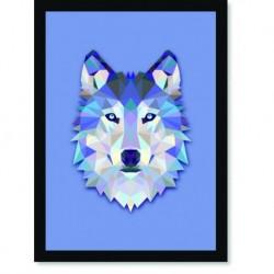 Quadro Poster Pop Art Lobo