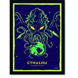 Quadro Poster Pop Art Cthulhu