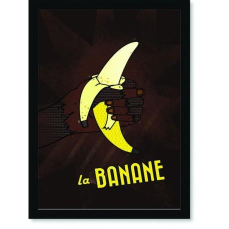 Quadro Poster Pop Art La Banane
