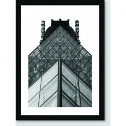 Quadro Poster Arquitetura Escada
