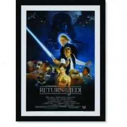 Quadro Poster Cinema Star Wars Return Of The Jedi