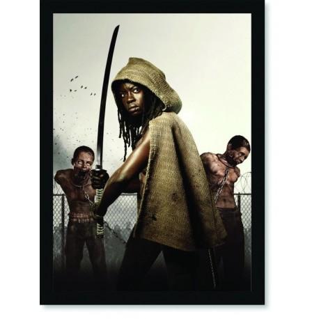 Quadro Poster Cinema The Walking Dead 2