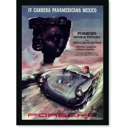 Quadro Poster Carros IV Carrera Panamericana Mexico