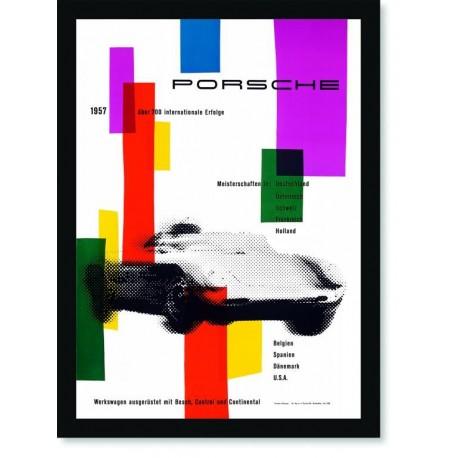 Quadro Poster Carros Porsche Uber 700