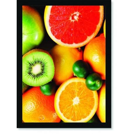 Quadro Poster Cozinha Salada de Frutas