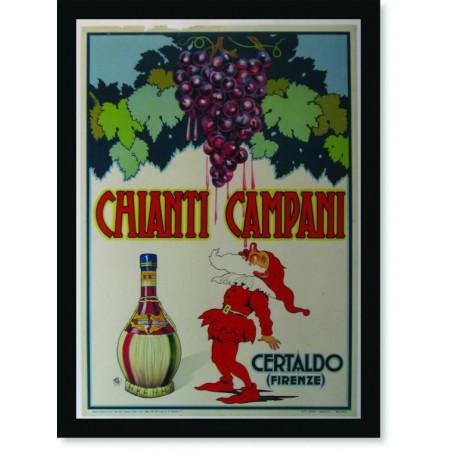 Quadro Poster Cozinha Chianti Campani Certaldo Firenze