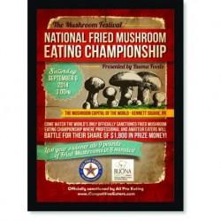 Quadro Poster Cozinha National Fried Mushroom
