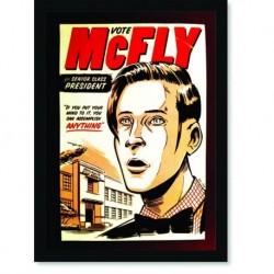 Quadro Poster Cozinha Vote MacFly