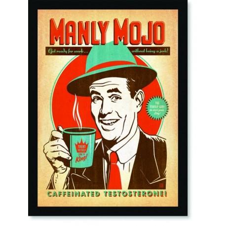 Quadro Poster Cozinha Manly Mojo