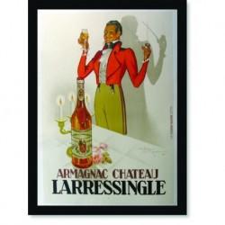 Quadro Poster Cozinha Armagnac Chateau Larressingle