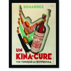 Quadro Poster Cozinha Un Kina Cure