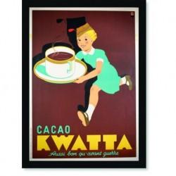 Quadro Poster Cozinha Cacao Kwatta