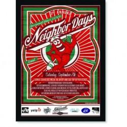 Quadro Poster Cozinha Neighbor Days