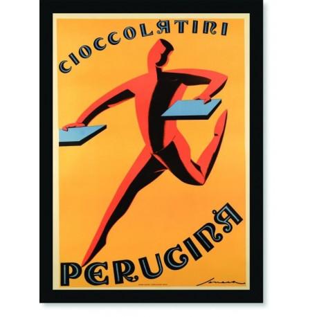 Quadro Poster Cozinha Chocolate Perucina