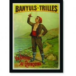 Quadro Poster Cozinha Banyuls Trilles