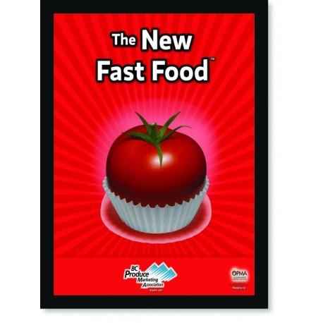 Quadro Poster Cozinha The New Fast Food Tomato
