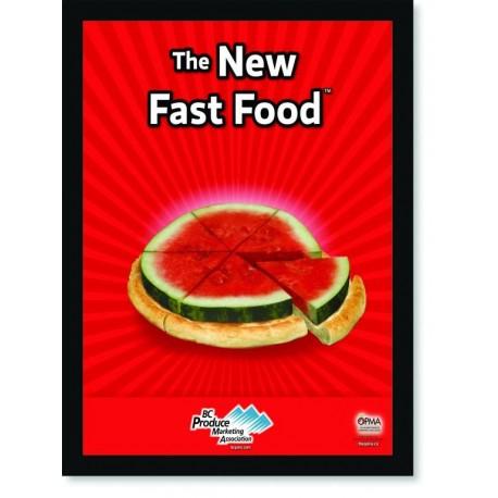 Quadro Poster Cozinha The New Fast Food Watermelon