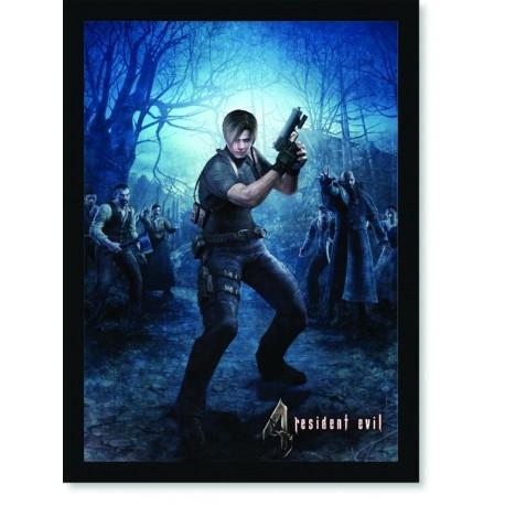Quadro Poster Games Resident Evil