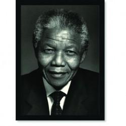 Quadro Poster Personalidades Nelson Mandela 2