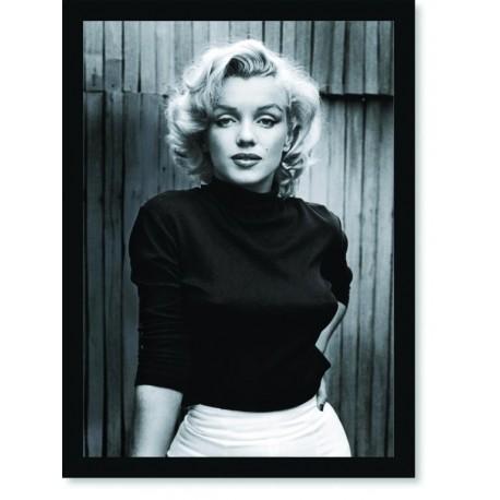 Quadro Poster Personalidades Marilyn Monroe 2