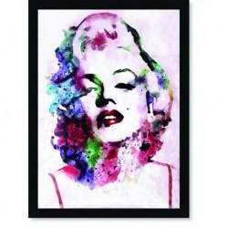 Quadro Poster Personalidades Marilyn Monroe 3