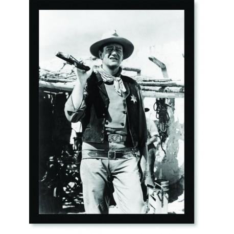 Quadro Poster Personalidades John Wayne 2